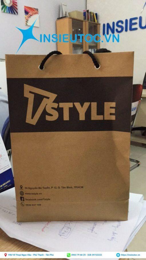 Túi giấy xi măng gắn quai