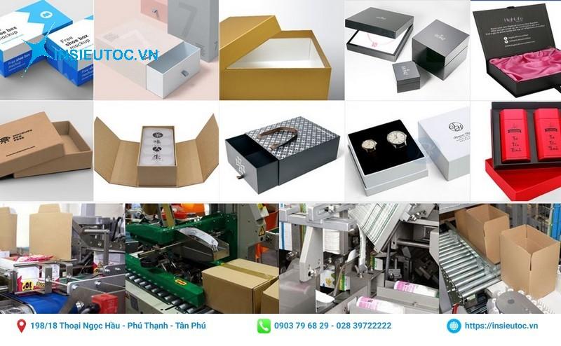 địa chỉ sản xuất hộp giấy các loại tphcm