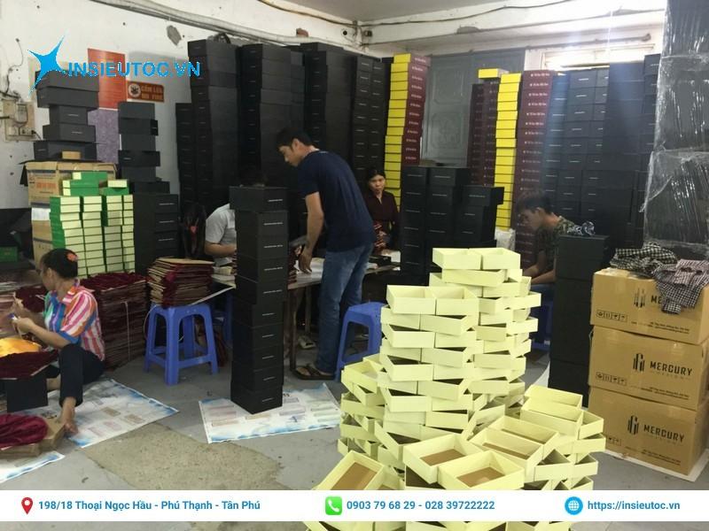 kho xưởng sản xuất hộp giấy