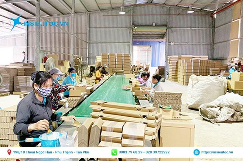 Xưởng đặt in mẫu hộp giấy đẹp giá rẻ TPHCM