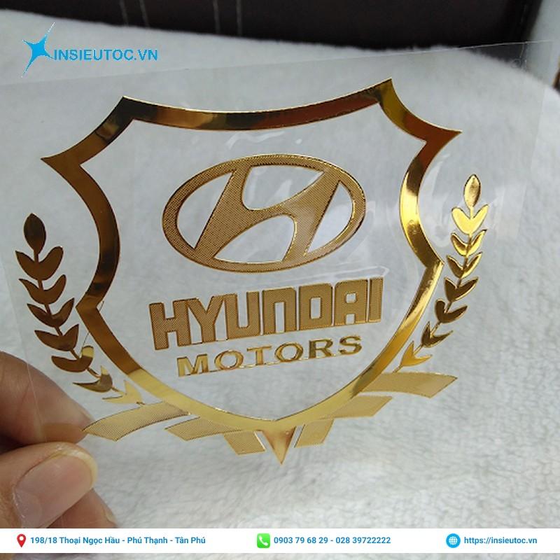 decal logo công ty