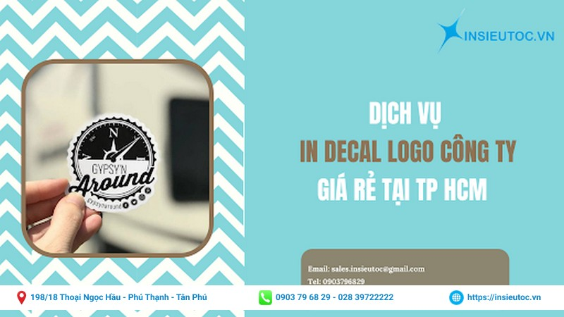 dịch vụ in decal logo