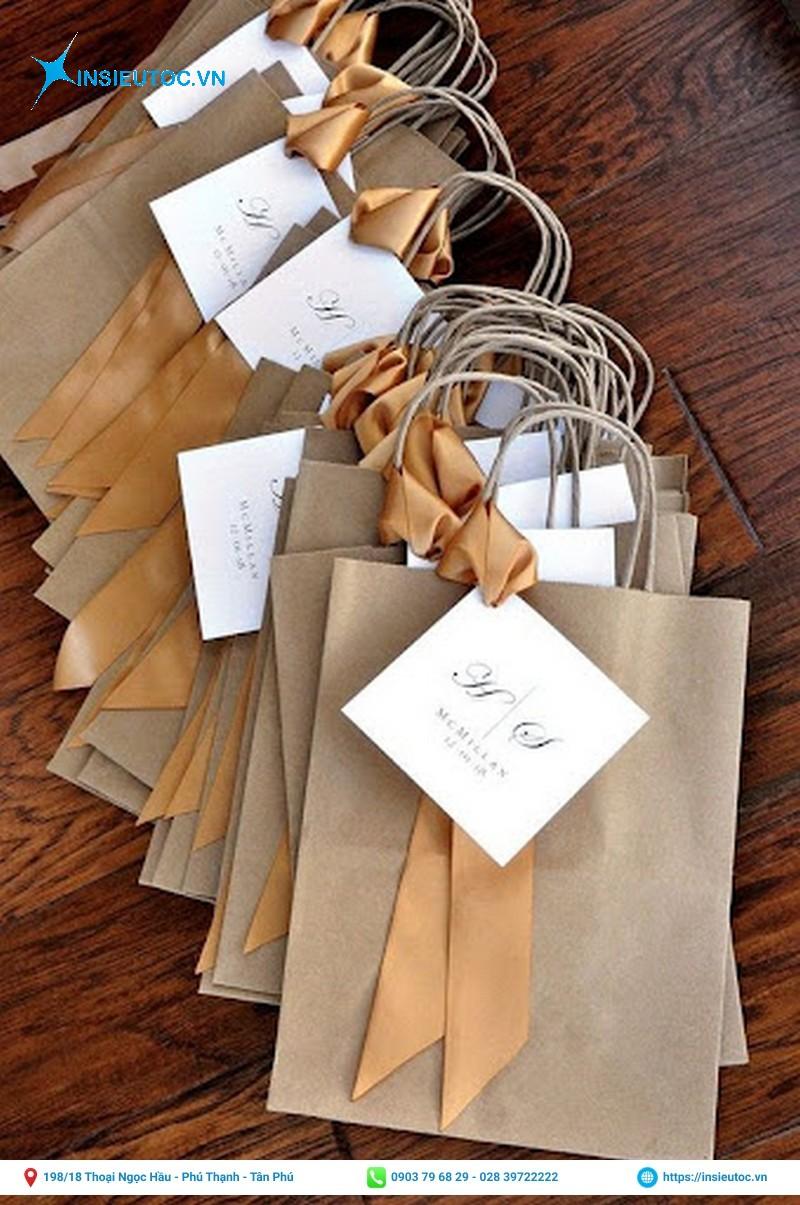 túi giấy kraft đa dạng