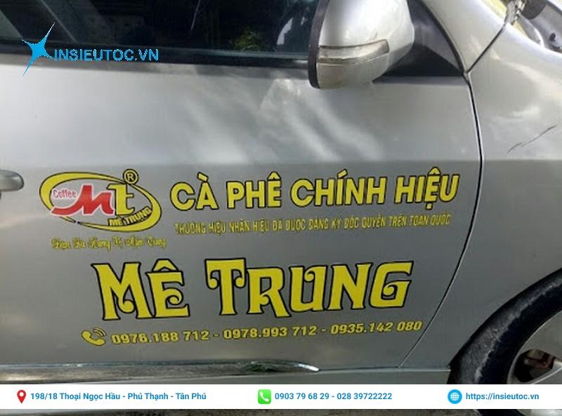 logo công ty thương hiệu cafe Mê Trung