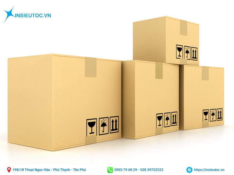 Mẫu hộp giấy carton có thiết kế đơn giản